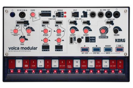 Korg Volca Modular - Semi-Modular Synthesizer with Sequenzer