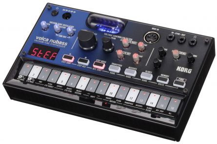 Korg Volca Nubass, Vacuum Tube Synthesizer with Sequenzer