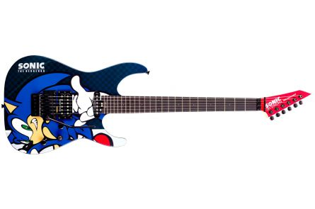 ESP Ltd SN-25TH Sonic the Hedgehog Guitar-II