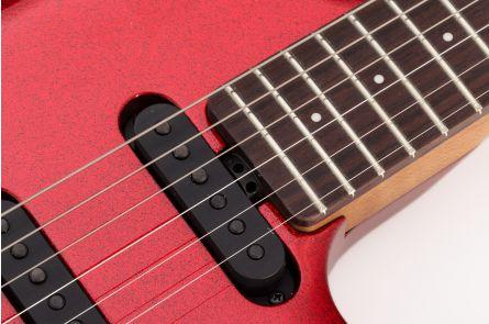 Music Man USA Luke III HSS RS - PDN Cardinal Red Sparkle Limited Edition