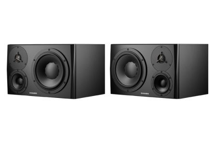 Dynaudio LYD-48 Black - Left & Right - PAIR BUNDLE SET
