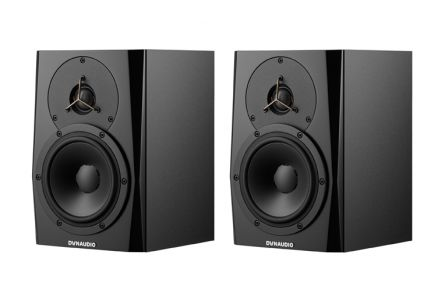 Dynaudio LYD-5 Black - PAIR BUNDLE SET