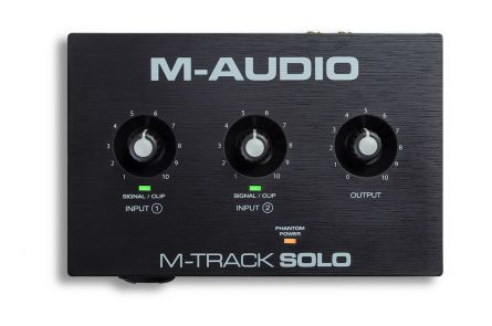 M-Audio M-Track solo USB Audio-Interface