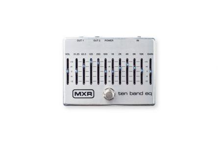 MXR M108S - Ten Band Equalizer, silver