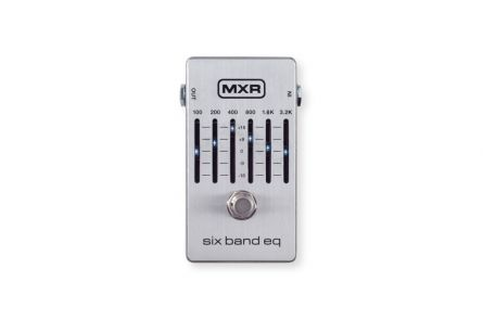 MXR M109S - Six Band Equalizer, silver