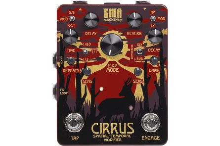 KMA Audio Machines Cirrus Spatial-Temporal Modifier - Delay / Reverb - 1x opened box