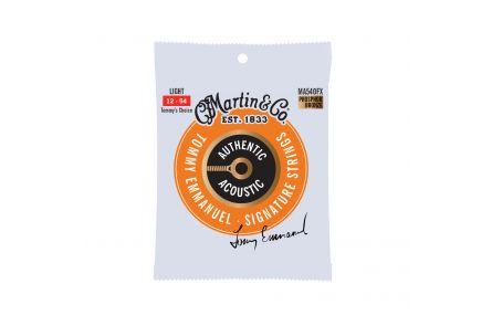 Martin Guitars MA540FX HT Phos Bronze Strings Light - Thinner Core