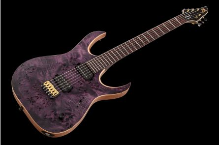 Mayones Duvell 6 Elite Eye Poplar - Dirty Violet RAW RW