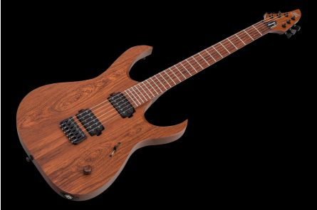 Mayones Duvell 6 Elite Madagascar Rosewood - Trans Natural Matt