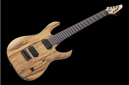 Mayones Duvell 7 BL Black Limba - Trans Natural Satin TKO