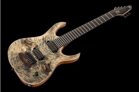 Mayones Duvell Elite 7 - Transparent Graphite Matt