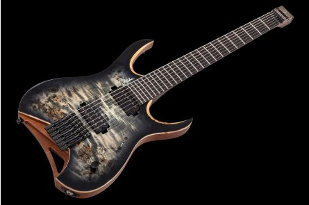 Mayones Hydra 7 Elite Headless - Trans Graphite Burst Gloss