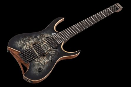Mayones Hydra 7 Elite Headless - Trans Graphite Burst Satin