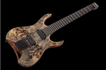 Mayones Hydra 7 Elite Headless - Trans Graphite Satin