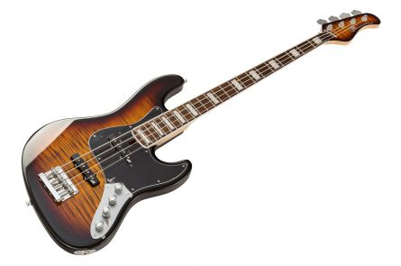 Mayones Jabba 4 Classic - Transparent Dirty Sunburst Gloss RW
