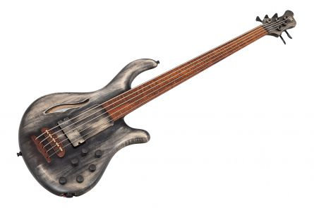 Mayones Patriot 5 Fretless MR Maurizio Rolli - Antique Black Oil