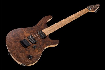 Mayones Regius 6 Burl Walnut - Trans Natural Matt