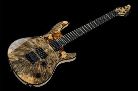 Mayones Regius 6 Buckeye Burl - Trans Natural Gloss Matt Back