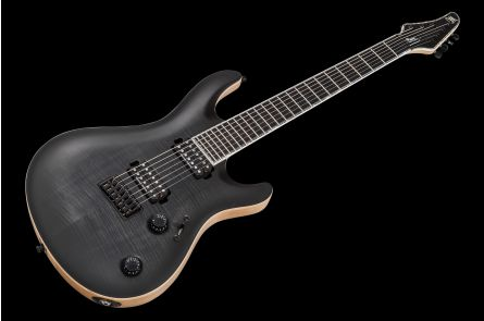 Mayones Regius 7 Core Classic - Trans Black Burst Satin