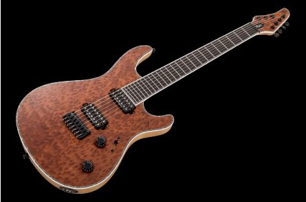 Mayones Regius 7 Custom Redwood - Trans Natural Satin