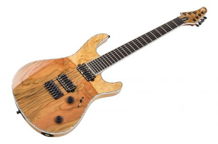 Mayones Regius 7 Pistachio - Trans Natural Gloss Matt Back
