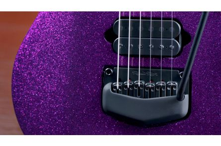 Music Man USA John Petrucci Majesty 6 BFR Fuchsia Deep Purple Sparkle - Limited Edition