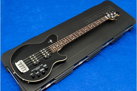 Music Man USA Reflex 4 HH Game Changer Bass - Black RW MH