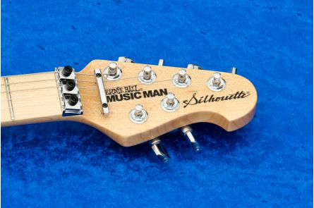 Music Man USA Silhouette HH FR BK - Black MN Limited Edition PV