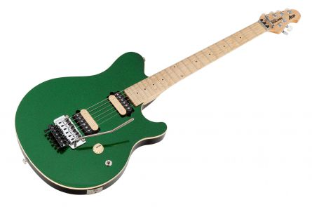 Music Man USA Axis ES - PDN Emerald Green Sparkle Limited Edition MN