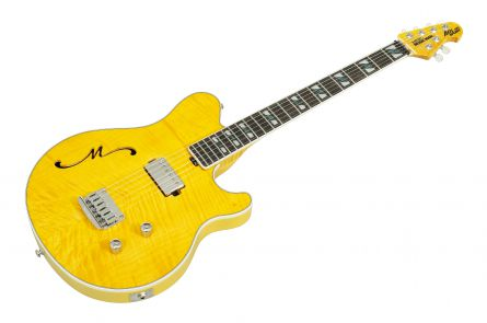 Music Man USA Axis Semi Hollow H BFR Buttery Blonde - Limited Edition