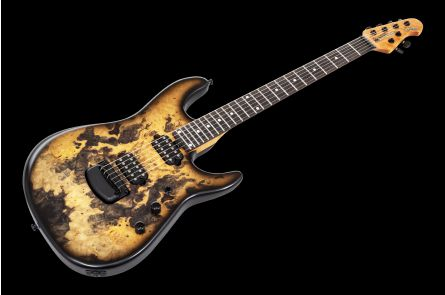 Music Man USA Cutlass 6 Jason Richardson Signature - Natural Buckeye Burl #S06056