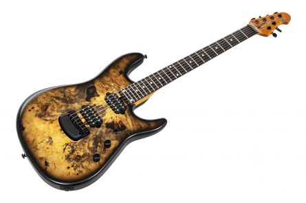 Music Man USA Cutlass 6 Jason Richardson Signature - Natural Buckeye Burl #S06087