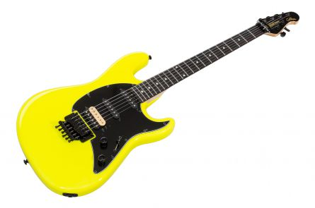 Music Man USA Cutlass HSS Guitar BFR Lemon - Limited Edition
