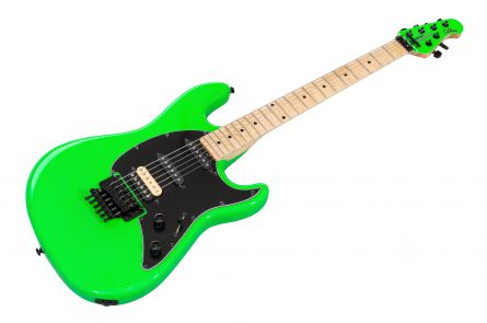 Music Man USA Cutlass HSS Guitar BFR Lime - Limited Edition