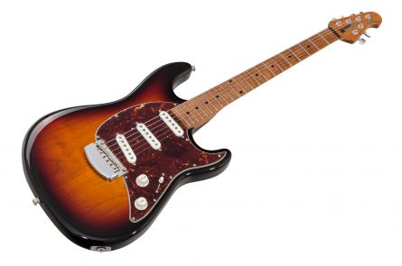 Music Man USA Cutlass RS SSS Guitar VS - Vintage Sunburst MN