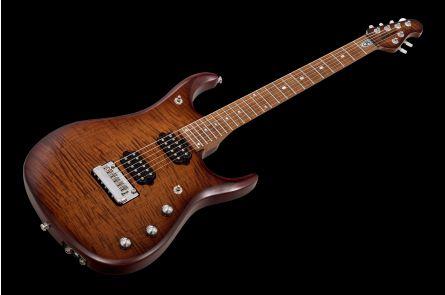 Music Man USA John Petrucci JP15 SB - Sahara Burst Flame