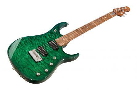 Music Man USA John Petrucci JP15 BFR QT TE - Teal Quilt