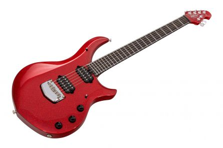 Music Man USA John Petrucci Majesty 6 BFR Cinnabar Red - Limited Edition