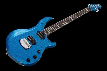 Music Man USA John Petrucci Majesty 6 BFR Marine Blue Sparkle - Limited Edition