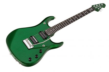Music Man USA John Petrucci JP12 ES - PDN Emerald Green Sparkle Limited Edition