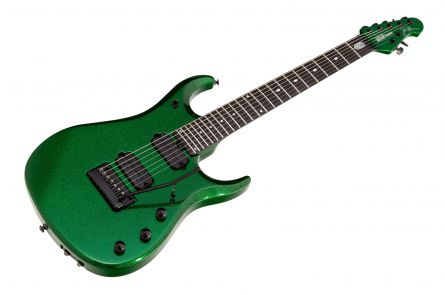 Music Man USA John Petrucci JPX-7 ES - PDN Emerald Green Sparkle Limited Edition