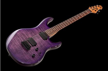 Music Man USA Luke III BFR HH FT BB - Boysenberry Flame