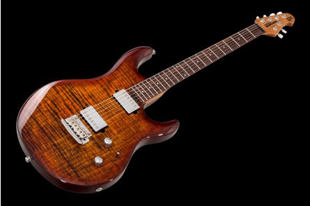 Music Man USA Luke III BFR HH FT HZB - Hazel Burst
