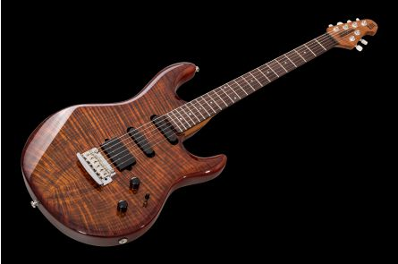 Music Man USA Luke III BFR HSS FT HZB - Hazel Burst