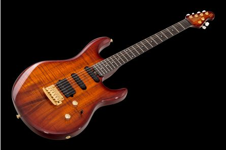 Music Man USA Luke III BFR HSS KB - Koa Island Burst