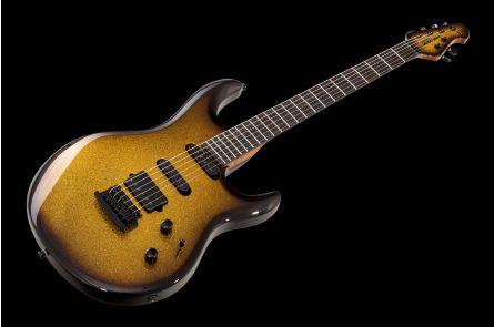 Music Man USA Luke III BFR HSS - Shadow Gold - Limited Edition - Birdseye maple neck