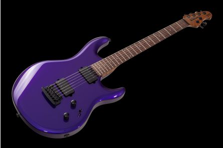 Music Man USA Luke III HH FMP - Firemist Purple - Roasted maple neck