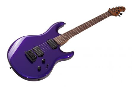 Music Man USA Luke III HH FMP - Firemist Purple - Roasted maple neck