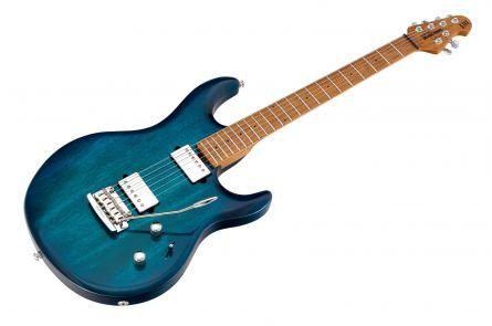 Music Man USA Luke III HH NB - PDN Neptune Blue Roasted Neck Limited Edition MN