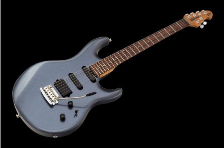 Music Man USA Luke III HSS BB - Bodhi Blue - Roasted maple neck